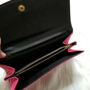 Vintage Bags - Vintage pink clutch purse evening bag mini prom